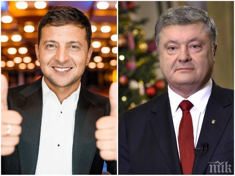 """Порошенко представи """"исканията си"""" към Владимир Зеленски"""