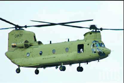 Трима военни се разбиха с хеликоптер в Минесота