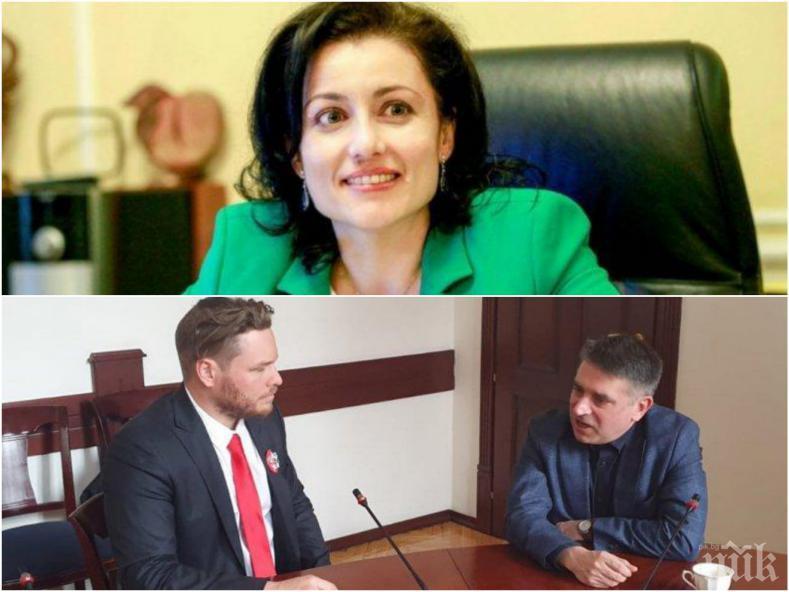 ЕКСКЛУЗИВНО В ПИК: Министър Десислава Танева: Не бих поканила Джок Полфрийман за среща в кабинета ми