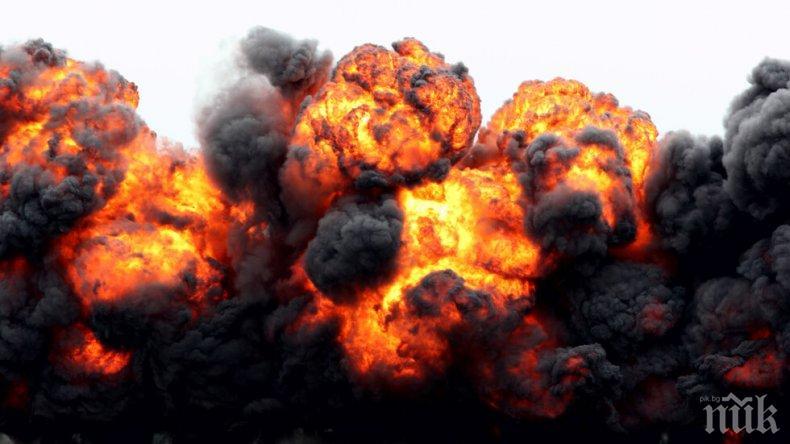 ИЗВЪНРЕДНО В ПИК: Експлозия в цех край Ямбол - има ранени