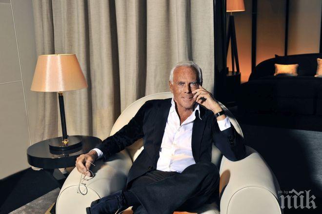 ПРИ ПЕНСИЯ: Джорджо Армани завещава бранда си на трима души