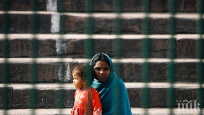 Зверство: Индийка почина, след като беше групово изнасилена и запалена