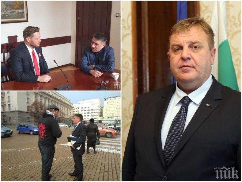 Вицепремиерът Каракачанов пред ПИК за срещата на Данаил Кирилов с убиеца Полфрийман: Убиец да поканя в кабинета си? Това е абсурд. Нека да дойде да излежи присъдата си тук! Г-н Кирилов, защо го поканихте?