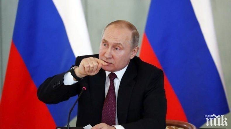 Путин отсече, че Русия не се интересува от подновяването на надпреварата във въоръжаването