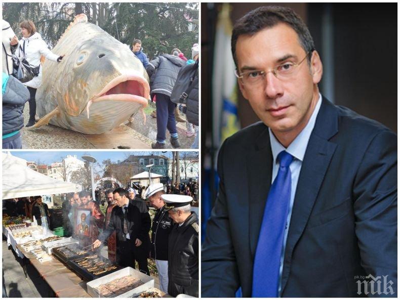 САМО В ПИК! Кметът на Бургас за празника на града: Приготвяме курбан от 6 тона риба по стара местна рецепта