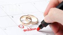 Брак през август – празник, венчило през януари – катастрофа