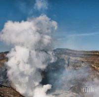 Вулкан изригна на туристически остров в Нова Зеландия