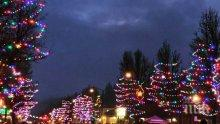 Американски град постави рекорд със 797 светещи елхи за Коледа