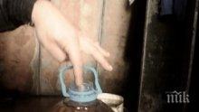 Апаши източиха 35 литра нафта от влак край Пловдив