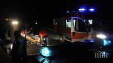 ТИР помля кола на магистралата край Пловдив, има ранен