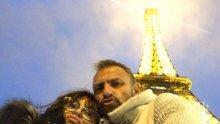 "Миглена Ангелова на любовен воаяж в Париж - мадам ""Искрено и лично"" се щракна пред... секс шоп (СНИМКИ)"