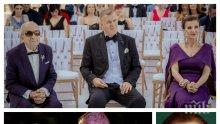 """ГОРЧИВО: Илиана Раева и Наско Сираков с троен празник - вижте как тълпи спряха трамваите на """"Витошка"""" заради сватбата на звездната двойка... (СНИМКА)"""