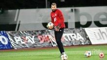 Вратар на ЦСКА стана баща (СНИМКА)