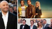 """Джон Траволта откри гаф във филма """"Имало едно време в Холивуд"""""""
