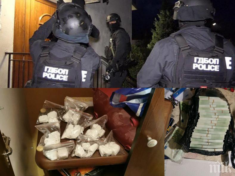 ИЗВЪНРЕДНО В ПИК TV: Спецпрокуратурата и МВР с горещи подробности за разбитите наркогрупи в София и Елин Пелин - спипали ги с 260 000 фалшиви евро (ОБНОВЕНА)