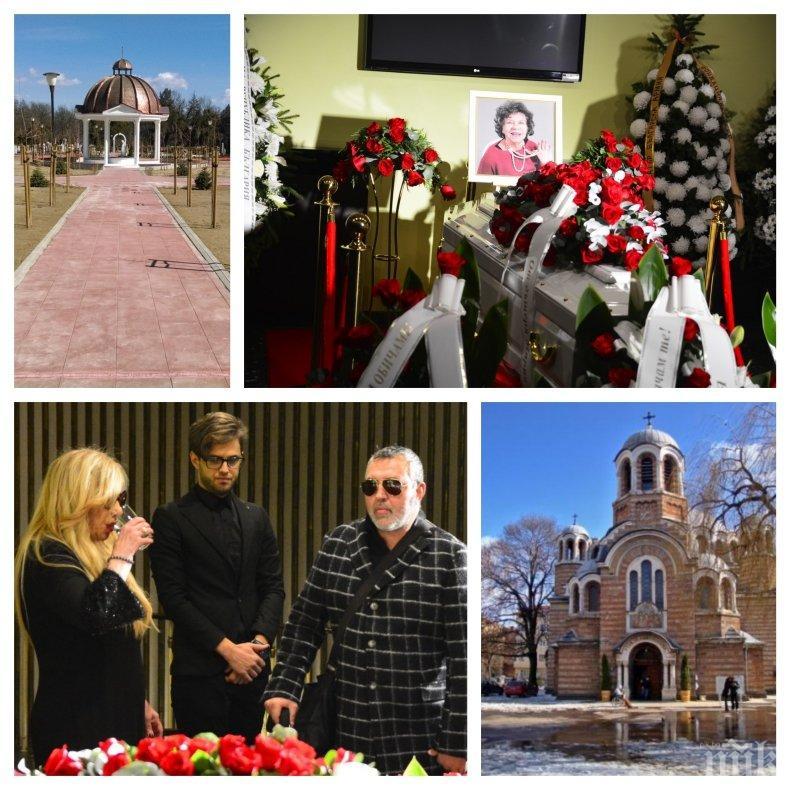 САМО В ПИК: Положиха Стоянка Мутафова в гроба на любимия й Нейчо Попов. Трима свещеници я опяха, а тези съвпадения, съпътстващи последния й път, ще ви смаят...