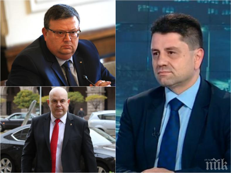 САМО В ПИК TV: Красимир Ципов с първи коментар за избора на Цацаров и полемиката около независимия прокурор: Не сме ставали свидетели на извършване на престъпление от главен прокурор и не очаквам такова нещо! (ОБНОВЕНА)