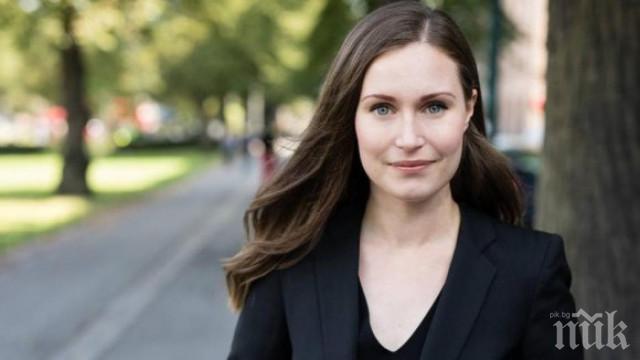 Финландка може да стане най-младият премиер в света