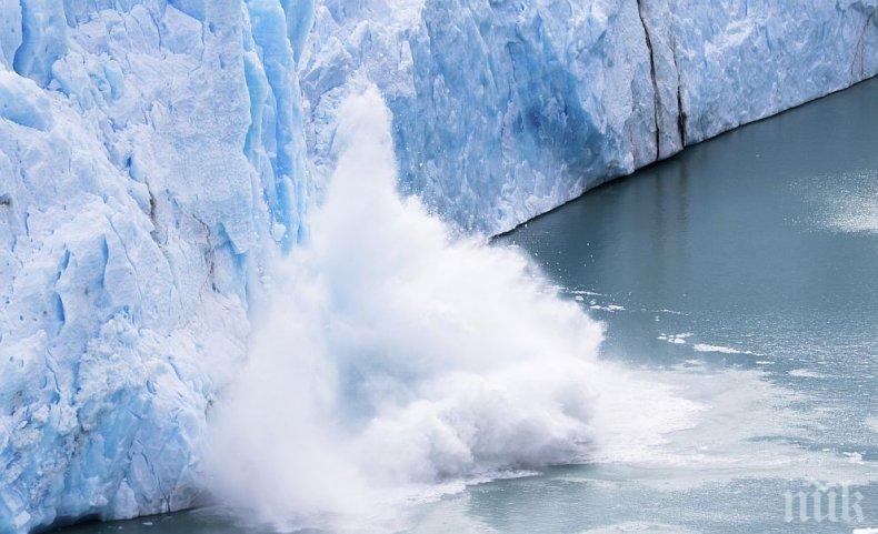 ТРЕВОЖНО: Ледниците в Аляска отстъпват с рекордни темпове