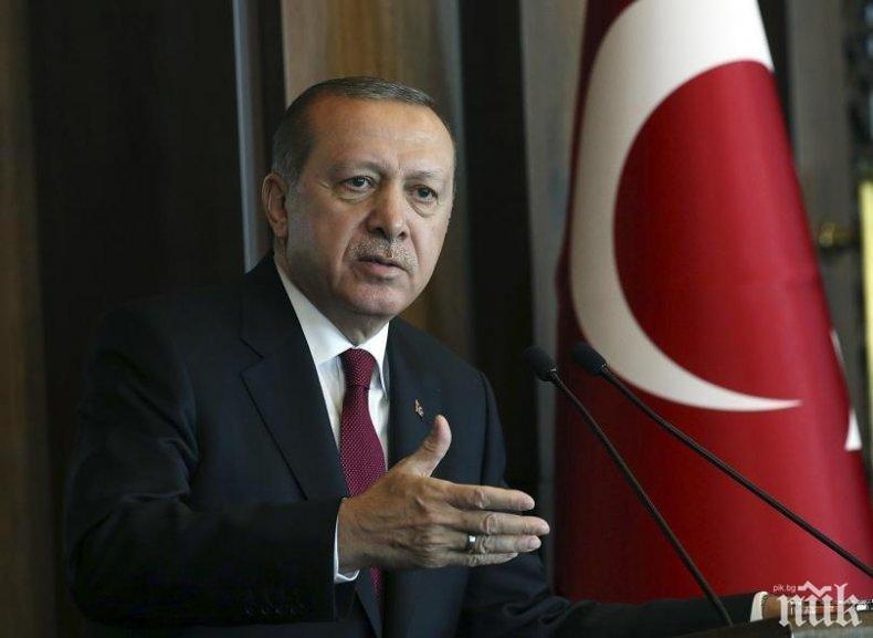 """Президентът на Турция изключи вариант страната му да се откаже от С-400 заради """"Пейтриът"""""""