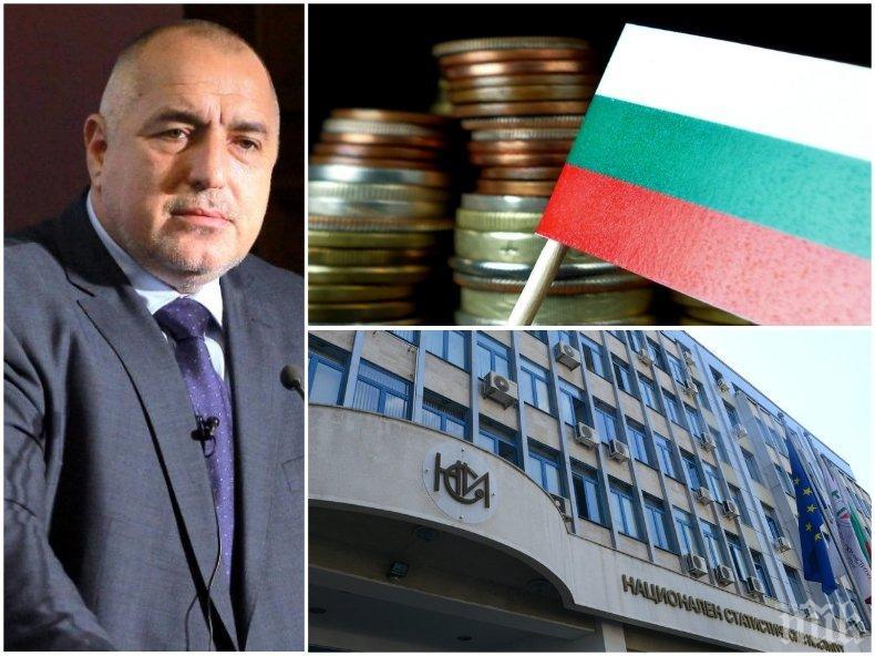 ПЪРВО В ПИК: Борисов с добри новини за икономиката