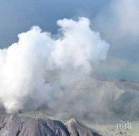 Водолази търсят жертви на вулкана в Нова Зеландия. Броят на загиналите достигна 15 души