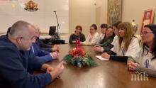 ПЪРВО В ПИК TV! Борисов на среща с протестиращите медицински сестри: Парите за здравеопазване са 5 пъти повече. Те: Има много болници в България (ОБНОВЕНА)