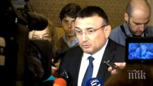 ПЪРВО В ПИК TV! Вътрешният министър Младен Маринов с подробности за катастрофата с НСО (ОБНОВЕНА)