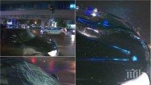 ИЗВЪНРЕДНО В ПИК TV: Ето мястото на катастрофата с президентския шофьор от НСО, блъснал дете - военна полиция и военна прокуратура разследват инцидента (ОБНОВЕНА/СНИМКИ)