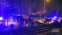 ИЗВЪНРЕДНО: Джип удари тежко лек автомобил на столичния булевард Цар Борис III (СНИМКИ)