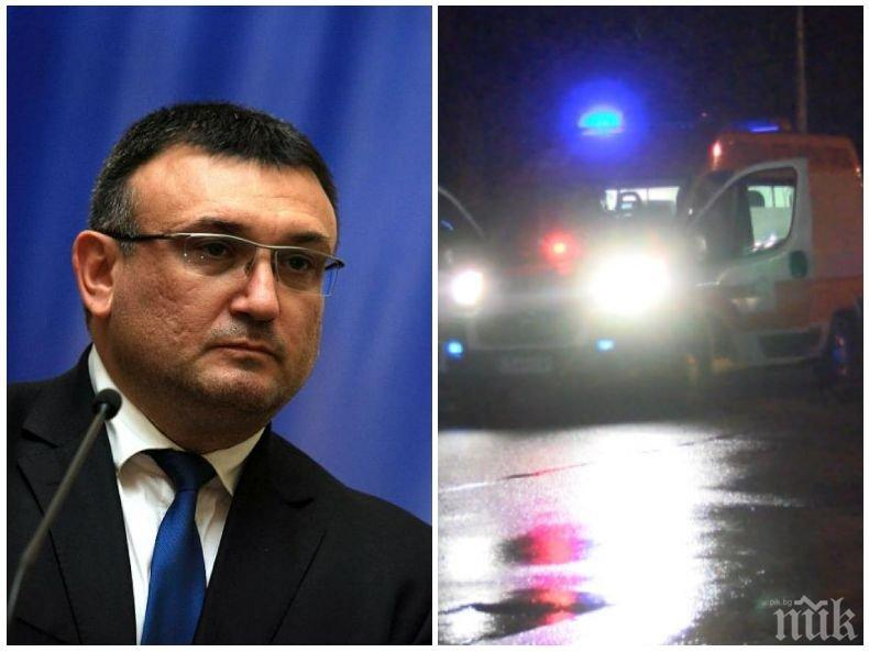 ИЗВЪНРЕДНО В ПИК TV: Министър Маринов и главният секретар на МВР показаха новия координационен център за пътна безопасност: Благодарение на него се спасихме от второ Хитрино (ОБНОВЕНА)