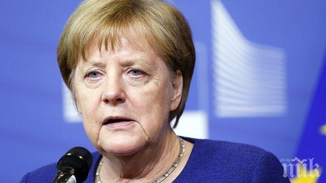 Меркел притеснена за бизнеса в Германия