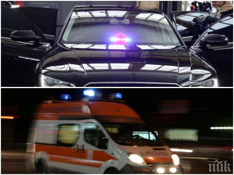 ЕКСКЛУЗИВНО В ПИК! Ето какво остана от колата на НСО, блъснала дете в София (СНИМКИ)
