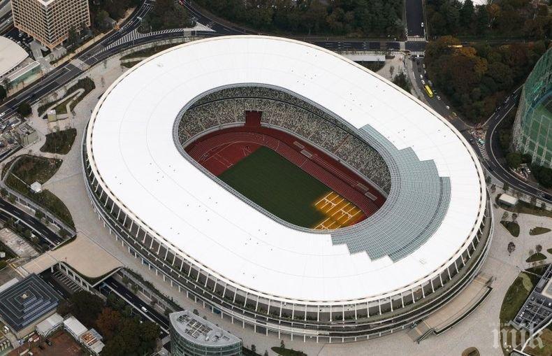 Премиерът на Япония откри новият национален стадион в Токио