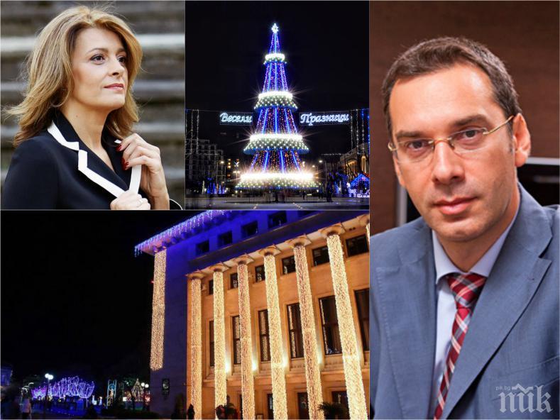 САМО В ПИК: Кметът на Бургас Димитър Николов с горещ коментар за похвалите на Деси Радева: Радвам се, че като жена е оценила старанието ни! Ще имаме изненади и на Нова година