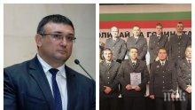 ИЗВЪНРЕДНО В ПИК TV: Младен Маринов награди служители на Гранична полиция (ОБНОВЕНА)
