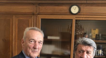 Европа Ностра поздрави Вежди Рашидов за изключителната му роля в опазването на наследството на България
