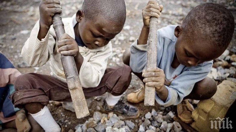 Обвиниха три мега компании за смъртта на деца в Конго