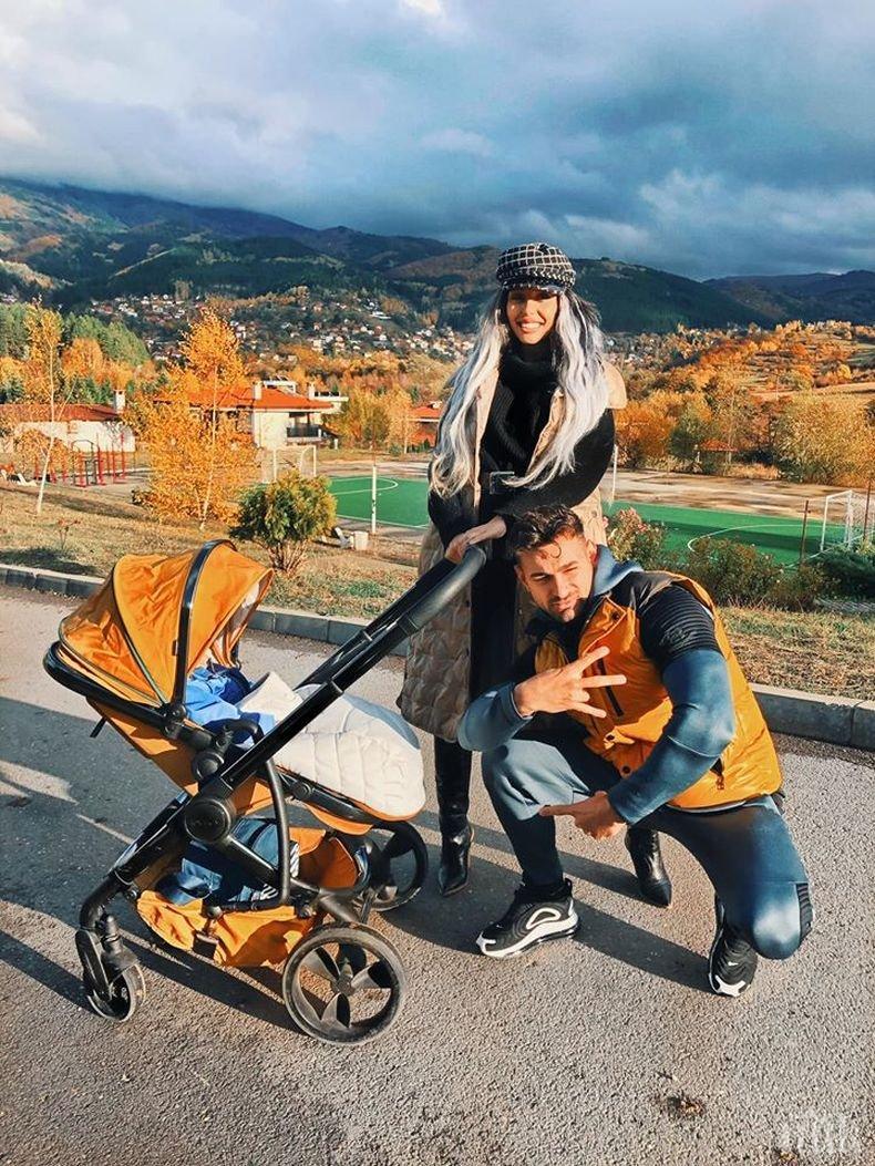 ТАЙНАТА ПАДНА: Малката Джулка разкри пола на първото си дете и той е...