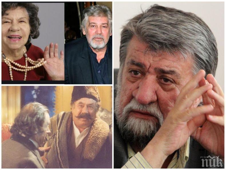 Вежди Рашидов в емоционална изповед пред ПИК за Ламбо, Стоянка Мутафова и големите творци - отиват ли си талантите, идват ли нови, защо Бай Ганьо се превърна в национален герой