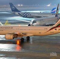 ИЗВЪНРЕДНО В ПИК! Български самолет кацна аварийно, за да спаси пътничка