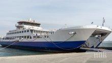 Силни бури затрудняват фериботния трафик в Гърция