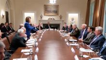 Доналд Тръмп: Нанси Пелоси рискува отново да загуби поста си