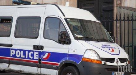 френската полиция откри 373 марихуана хладилен камион