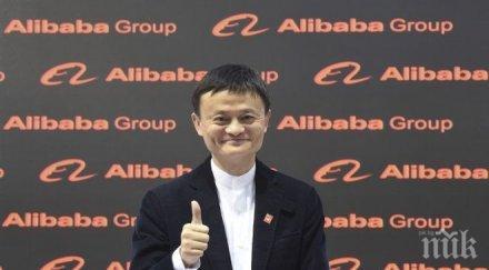 алибаба стана скъпата компания източна азия