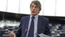 Председателят на Европарламента обещава ожесточени преговори с Лондон