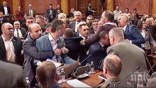 Опозиционните лидери на Черна гора са арестувани след драмата в парламента