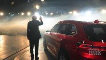 Ердоган представи първата турска кола на ток