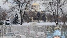 ЗИМАТА СЕ РАЗВИХРЯ: Сняг ще продължава да вали, температурите ще паднат до минус 4 градуса