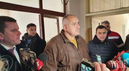 ПЪРВО В ПИК TV: Премиерът Борисов отново спешно в Перник, захапа остро Нинова за яхването на кризата (ОБНОВЕНА)